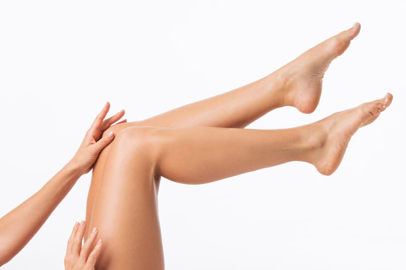 Legs with Healthy Veins