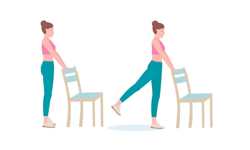 butt kick vein exercise, butt and leg exercises that can be done at home with chair